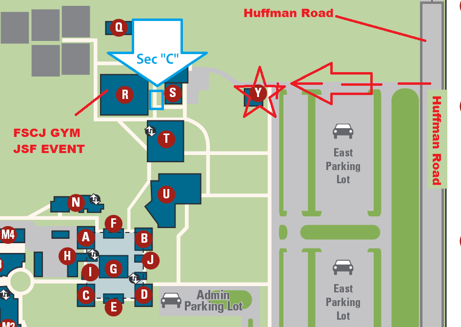 Fscj South Campus Map   DARARTESPHB